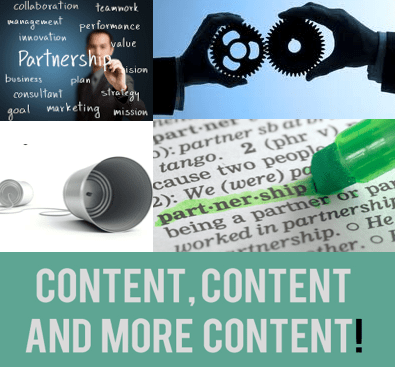 content and partnerships